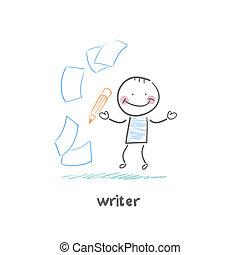 écrivain