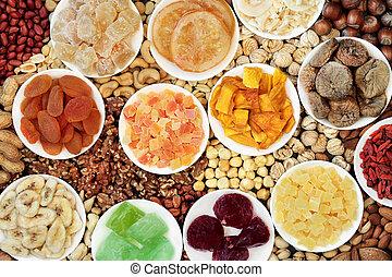 écrou, fruits secs, collection