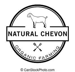 écusson, agriculture, organique, naturel
