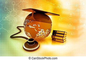 éducation médicale, concept