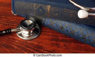 éducation médicale, santé, concept., soin