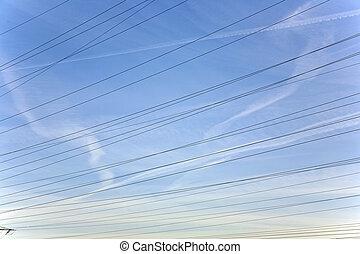 ég emelkedik, elektromos