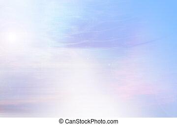 ég, háttér, réteg, nap rays