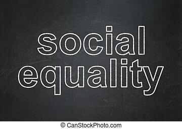 égalité, politique, tableau, fond, social, concept:
