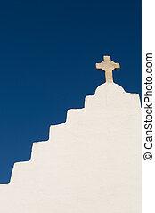 église, île, mykonos, paraportiani, panagia, grèce