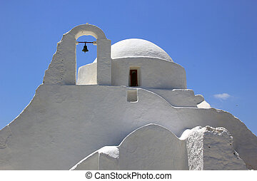 église, île, paraportiani, mykonos, panagia, grèce