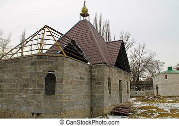 église, construction