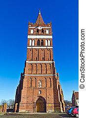 église, de, rue. george, (kirche, friedland), -, gothique,...