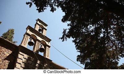 église, grèce, crète