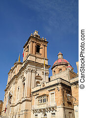 église, rue., lawrence's, vittoriosa, (birgu)