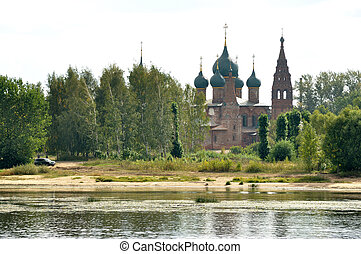église, yaroslavl, baptiste, john, russie