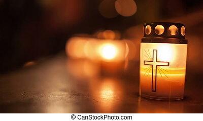 églises, nuit