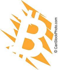 égratignure, bitcoin