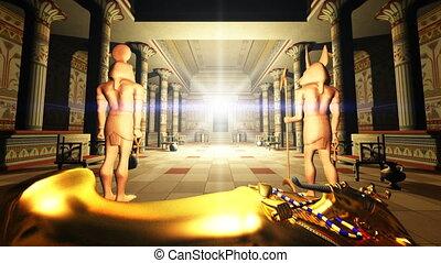 égyptien, tombeaux