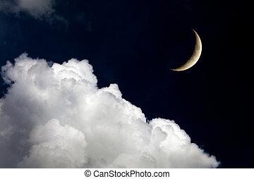 éjszaka ég