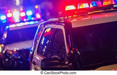 éjszaka időmérés, rendőrség, közbenjárás