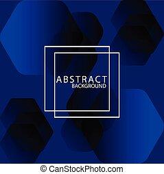 élégant, conception, arrière-plan., bleu, moderne, gabarit, vecteur