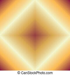 élégant, résumé, fond jaune