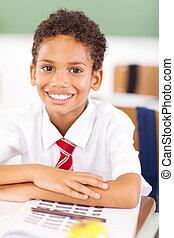 élémentaire, classe, écolier, séance