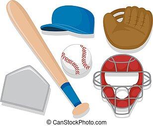 éléments, base-ball