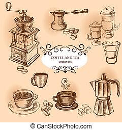 éléments, café