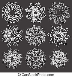 éléments floraux