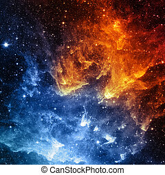 éléments, meublé, ceci, image, -, nasa, galaxie