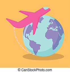 élévateur, livraison, transportations, ensemble, service
