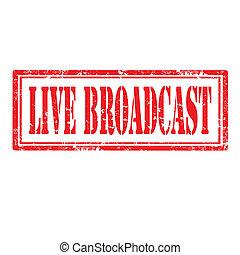 él, broadcast-stamp