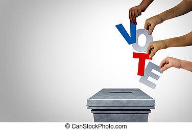 élection, président