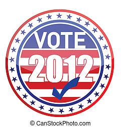 élections, uni, amérique, etats