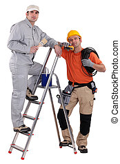 électricien, décorateur