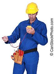 électricien, testeur