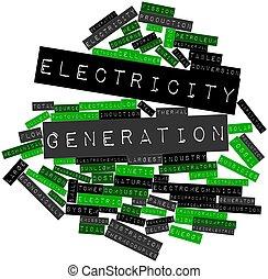 électricité, génération
