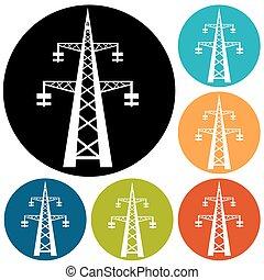 électricité, icône