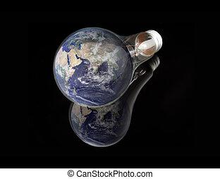 électricité, lightbulb