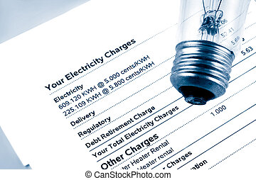 électricité, note