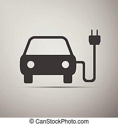 voiture symbole pollution voiture symbole ombre illustration vectorielle rechercher. Black Bedroom Furniture Sets. Home Design Ideas