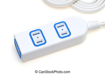 électrique, extension, bande