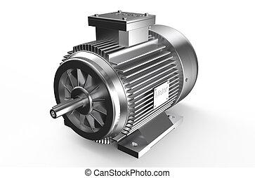 électrique, industriel, moteur