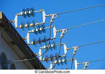 électrique, isolateur