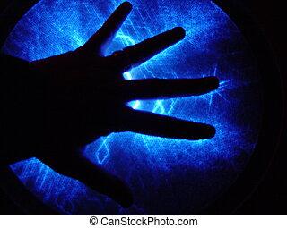 électrique, main
