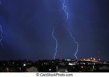 électrique, orage