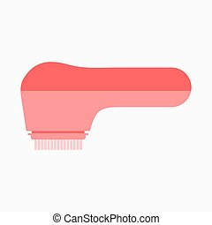 électrique, skincare, nettoyage, brosse, facial