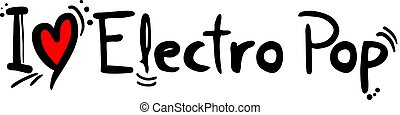 électro, musique, pop
