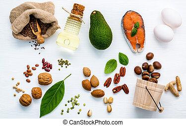 élelmiszer, eredetek, 3, kiválasztás, omega