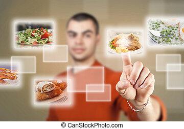 élelmiszer, kiválasztás