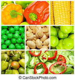 élelmiszer, részlet, állhatatos, különféle