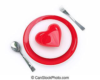 élelmiszer, szeret