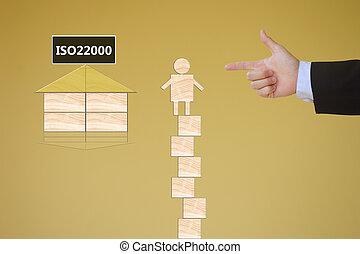 élelmiszer, vezetőség, biztonság,  iso22000,  specifying